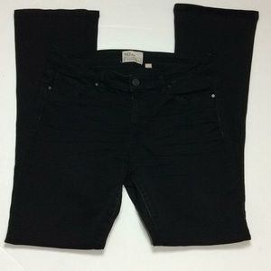 BKE Payton Tailored Bootcut Black Jeans Sz 30